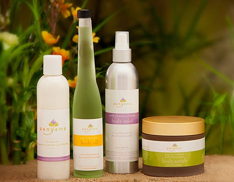 Zenyama Spa Products