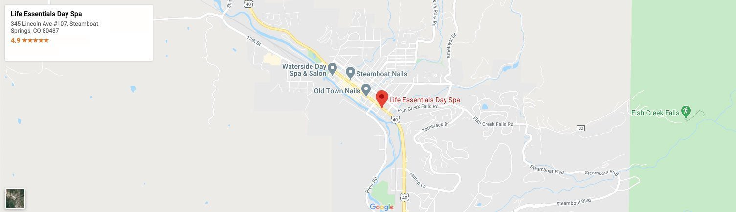 Map to Life Essentials Day Spa