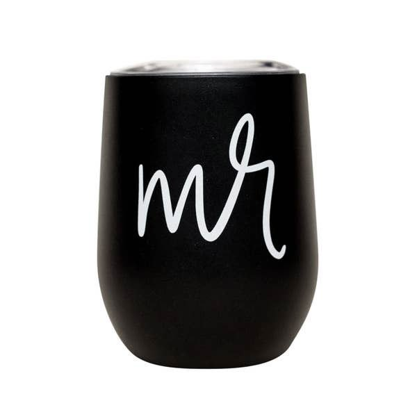 Mr. Metal Wine Tumbler