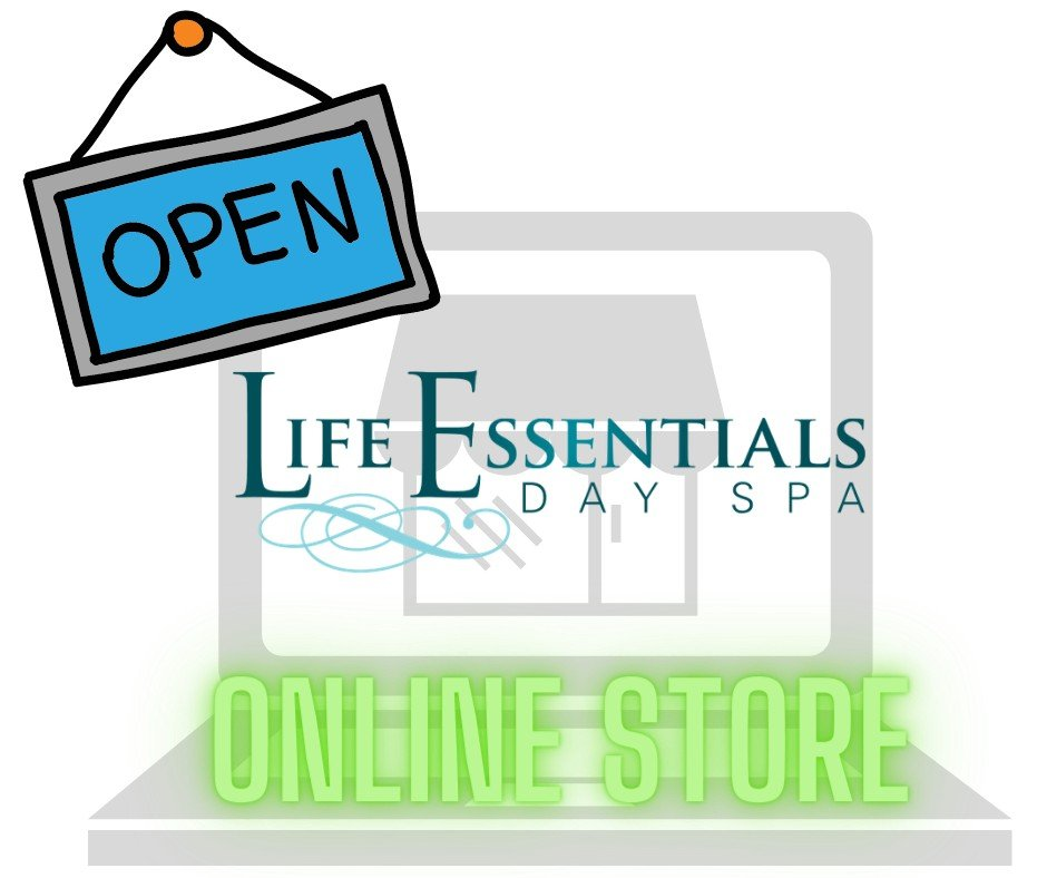 New online Shopping at Life Essentials Day Spa